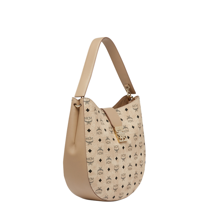 MCM Patricia Hobo in Visetos MWH8SPA47IG001 AlternateView2