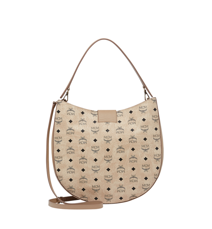 MCM Patricia Hobo in Visetos MWH8SPA47IG001 AlternateView4