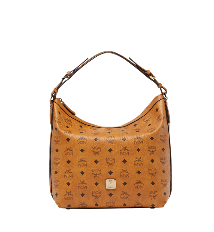 MCM Essential Hobo in Visetos MWH8SSE74CO001 AlternateView
