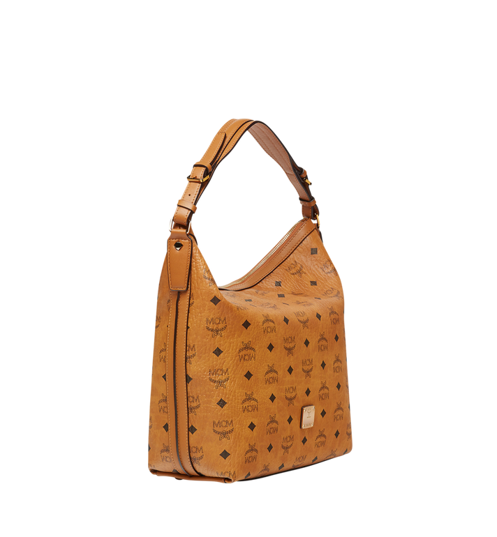 MCM Essential Hobo in Visetos MWH8SSE74CO001 AlternateView2