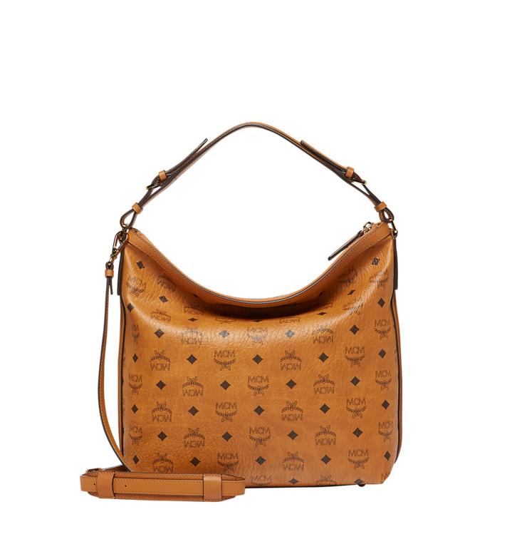 MCM Essential Hobo in Visetos MWH8SSE74CO001 AlternateView4
