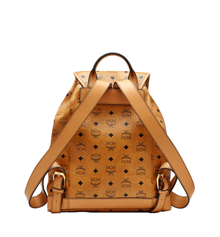 MCM Heritage Single Pocket Rucksack in Visetos MWK6AVI44CO001 AlternateView3