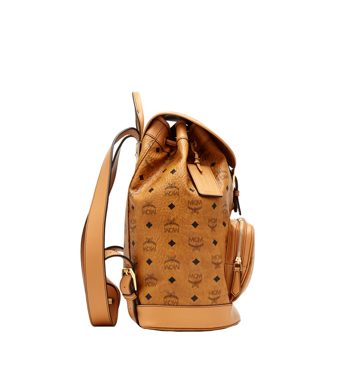 MCM Heritage Single Pocket Rucksack in Visetos MWK6AVI44CO001 AlternateView4