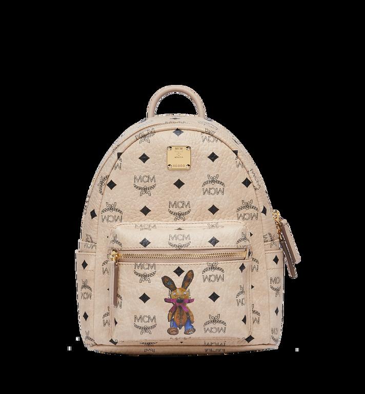 MCM Stark Classic Rabbit Backpack in Visetos MWK6AXL07IG001 AlternateView