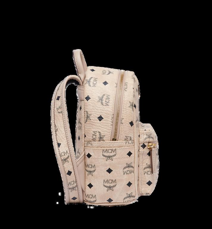 MCM Stark Classic Rabbit Backpack in Visetos MWK6AXL07IG001 AlternateView3