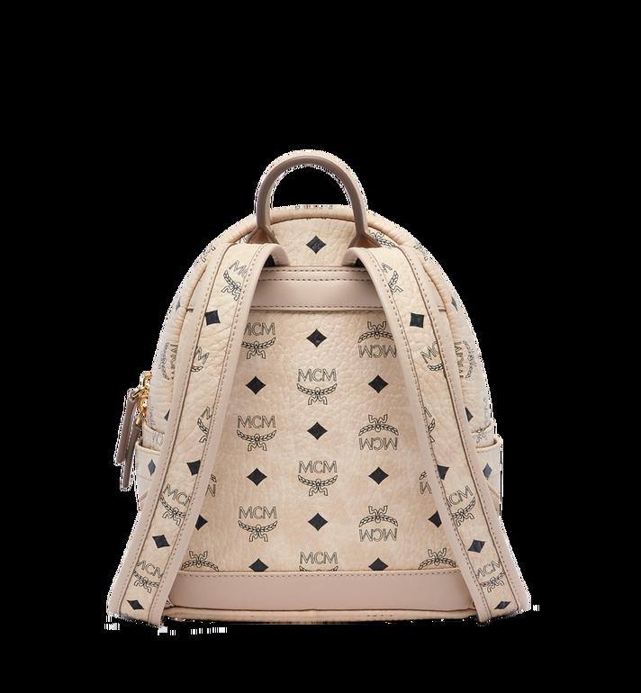 MCM Stark Classic Rabbit Backpack in Visetos MWK6AXL07IG001 AlternateView4