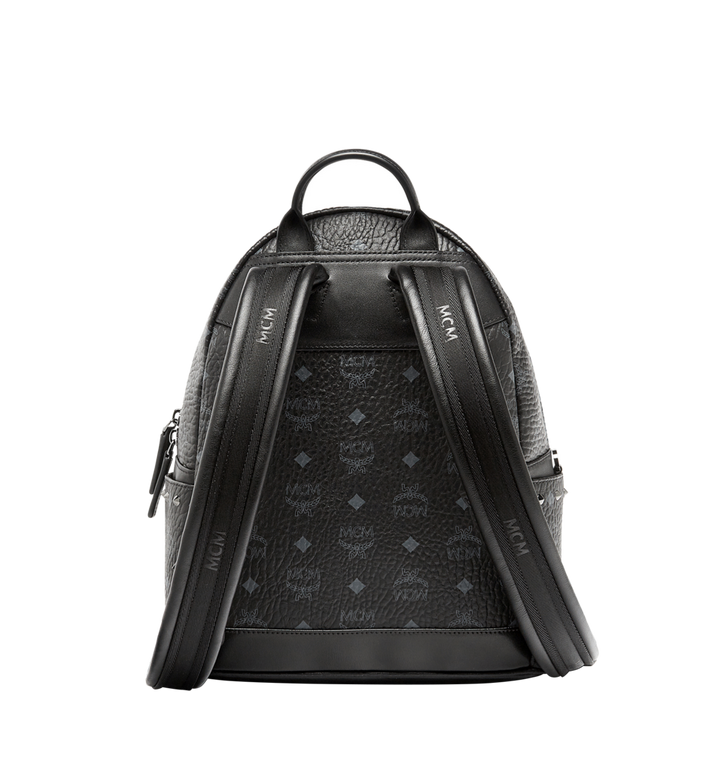 MCM Stark Diamond Swarovski Backpack in Visetos MWK6SVI52BK001 AlternateView4
