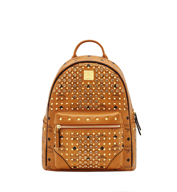 MCM Diamond Visetos Backpack MWK6SVI52CO001 AlternateView
