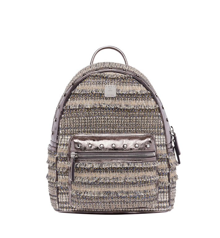 MCM Stark Special Backpack in Crystal Tweed MWK7AVE40SS001 AlternateView