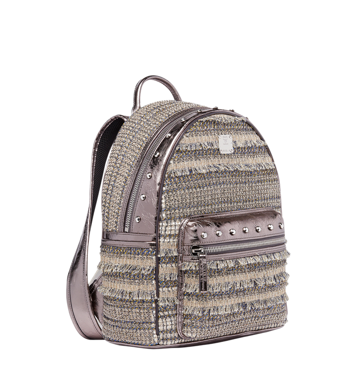 MCM Stark Special Backpack in Crystal Tweed MWK7AVE40SS001 AlternateView2
