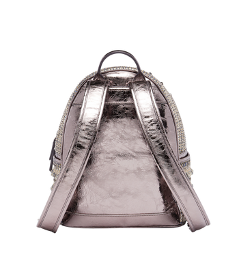 MCM Stark Special Backpack in Crystal Tweed MWK7AVE40SS001 AlternateView4