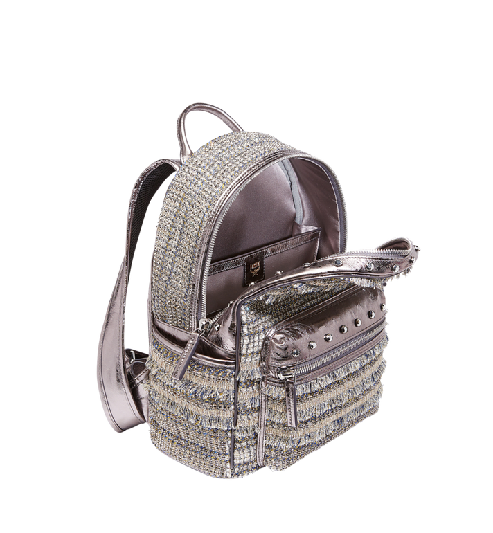 MCM Stark Special Backpack in Crystal Tweed MWK7AVE40SS001 AlternateView5