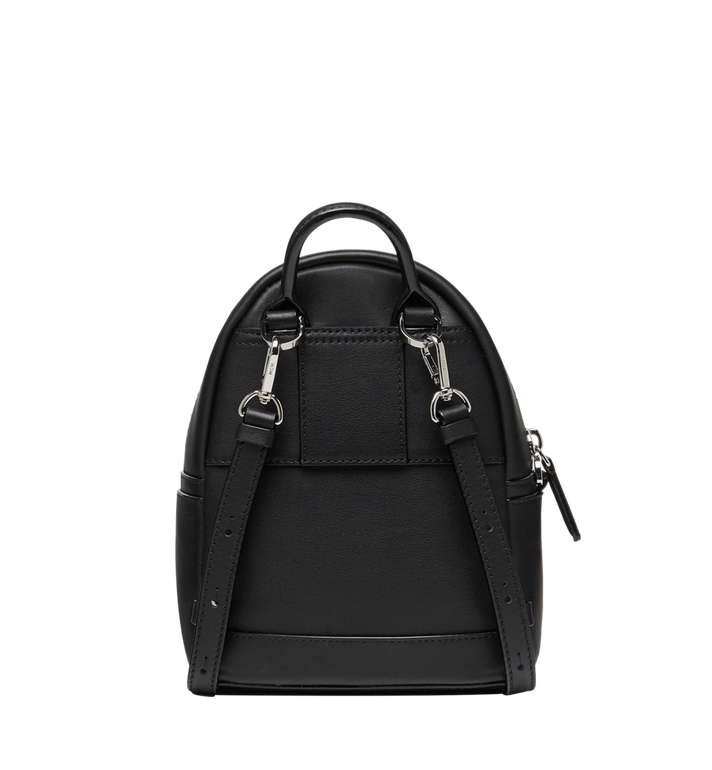 MCM Stark Bebe Boo Backpack in MCM Leopard Crystal MWK8AVE11BK001 AlternateView5