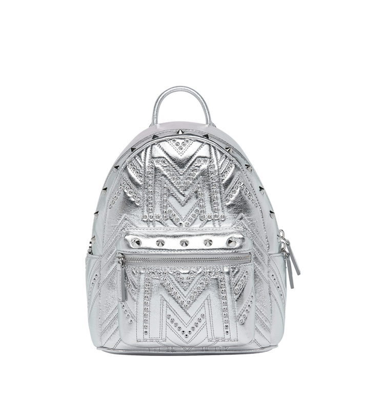 MCM Stark Rucksack in Quilted Studs MWK9SVE02SB001 AlternateView