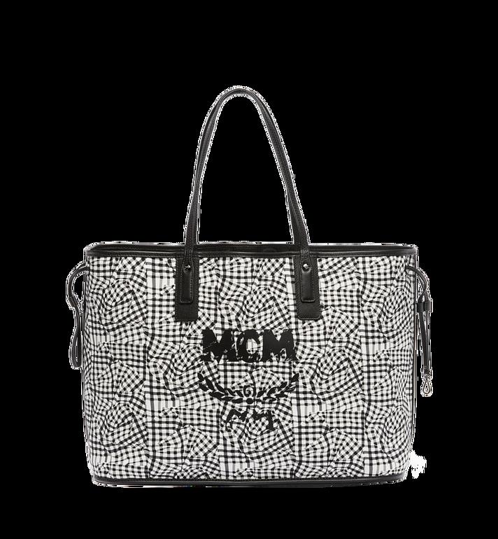 MCM Reversible Liz Shopper in Visetos MWP6AVI21BK001 AlternateView6