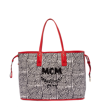 MCM Reversible Liz Shopper in Visetos MWP6AVI21RU001 AlternateView6