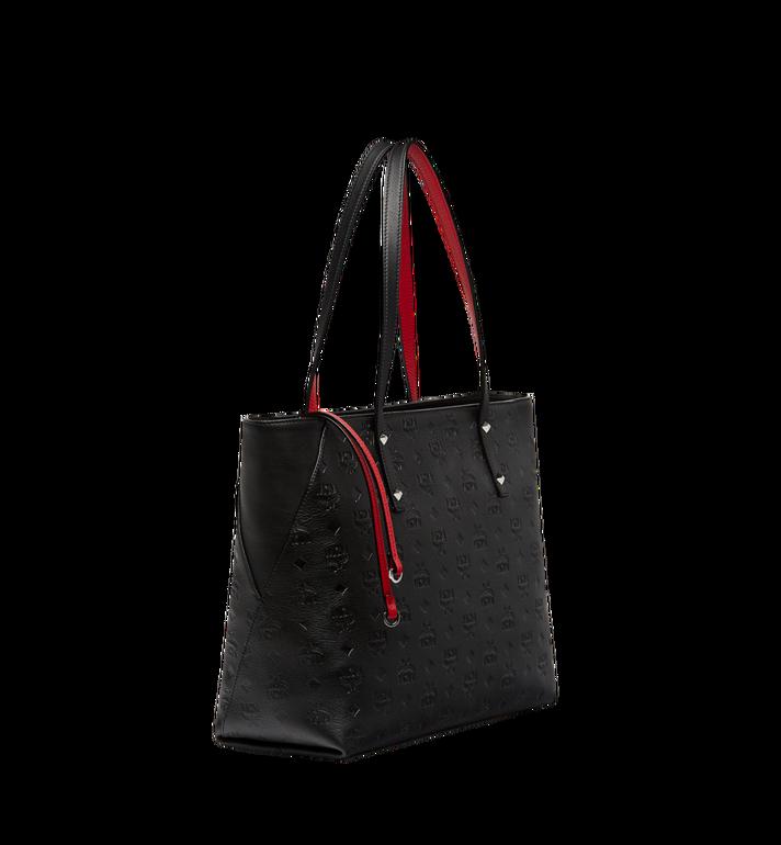 MCM Klara Top Zip Shopper in Monogram Leather MWP7AKM51BK001 AlternateView2