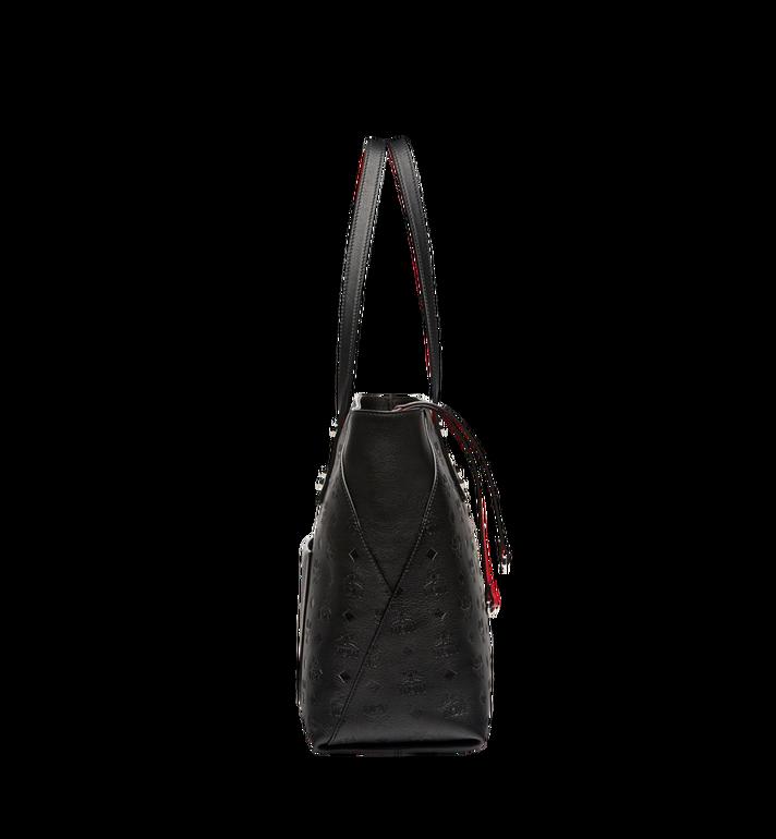 MCM Klara Top Zip Shopper in Monogram Leather MWP7AKM51BK001 AlternateView3