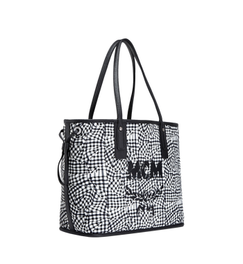 MCM Reversible Liz Shopper in Leather MWP7AXS60BK001 AlternateView6