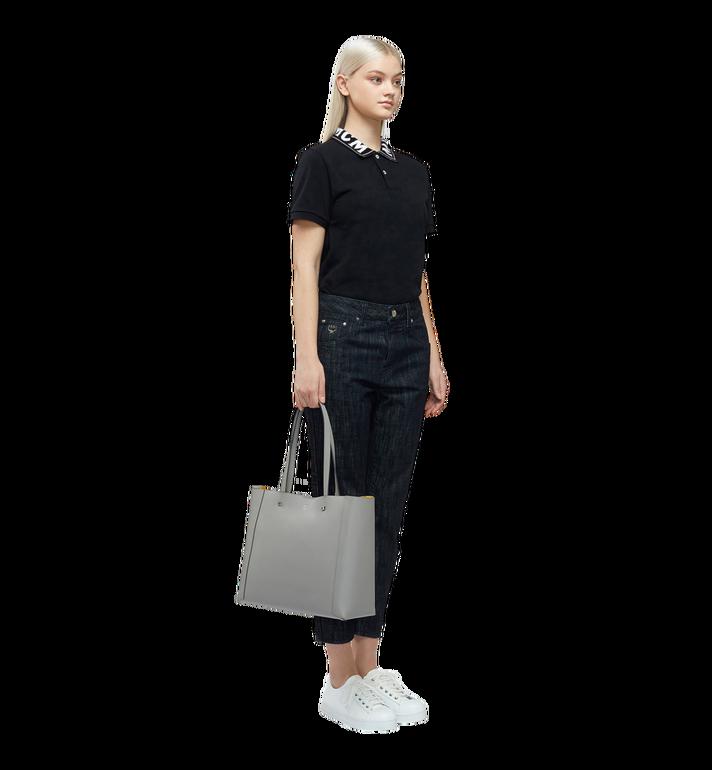 MCM Ilse Shopper in Pebble Grained Leather MWP8SXS30EZ001 AlternateView6