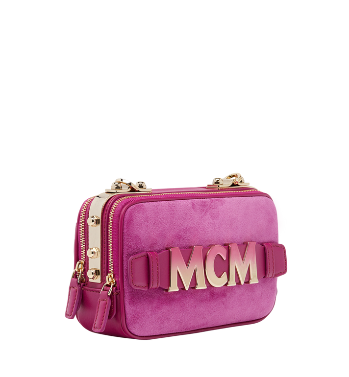 MCM Cubism Crossbody in Suede MWR8AXC17UK001 AlternateView2