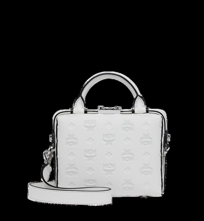 MCM Soft Berlin Crossbody Bag in Monogram Leather AlternateView4