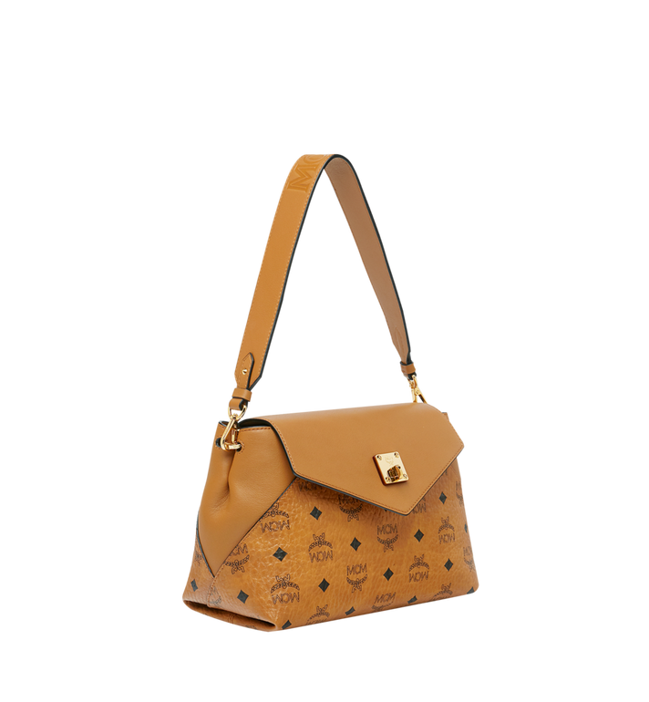 MCM Essential Crossbody in Visetos Original MWR9SSE73CO001 AlternateView2