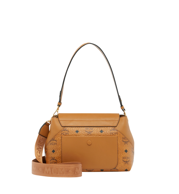MCM Essential Crossbody in Visetos Original MWR9SSE73CO001 AlternateView4