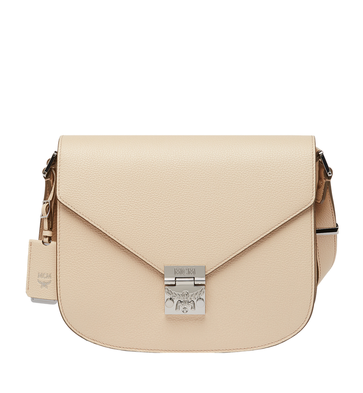 MCM Patricia Shoulder in Grained Leather MWS7SPA14IB001 AlternateView