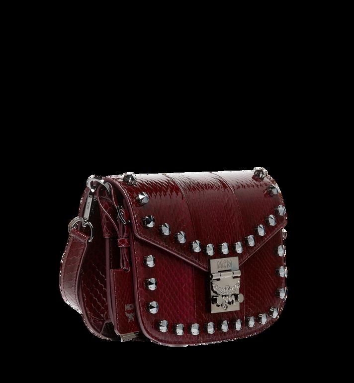 MCM Patricia Shoulder Bag in Exotic Crystal Leather AlternateView2