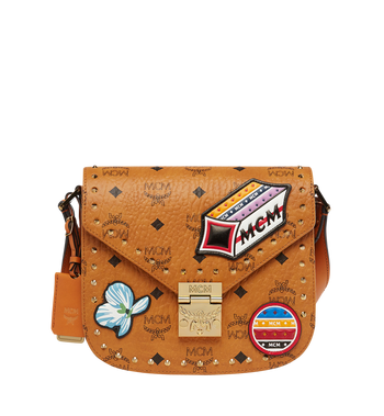MCM Patricia Victory Patch Shoulder in Visetos MWS8SPA40CO001 AlternateView