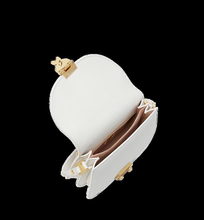 MCM Trisha Chain Schultertasche aus feingemasertem Leder MWS8STS93WT001 AlternateView5