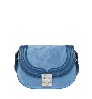 MCM Trisha Shoulder Bag in Suede MWS8STS94LU001 AlternateView