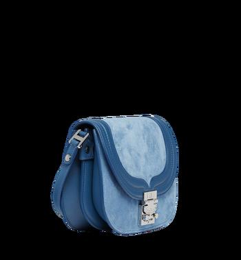MCM Trisha Shoulder Bag in Suede MWS8STS94LU001 AlternateView2