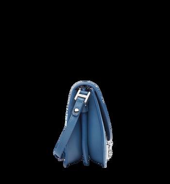 MCM Trisha Shoulder Bag in Suede MWS8STS94LU001 AlternateView3