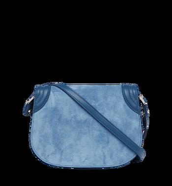 MCM Trisha Shoulder Bag in Suede MWS8STS94LU001 AlternateView4