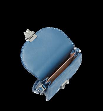 MCM Trisha Shoulder Bag in Suede MWS8STS94LU001 AlternateView5