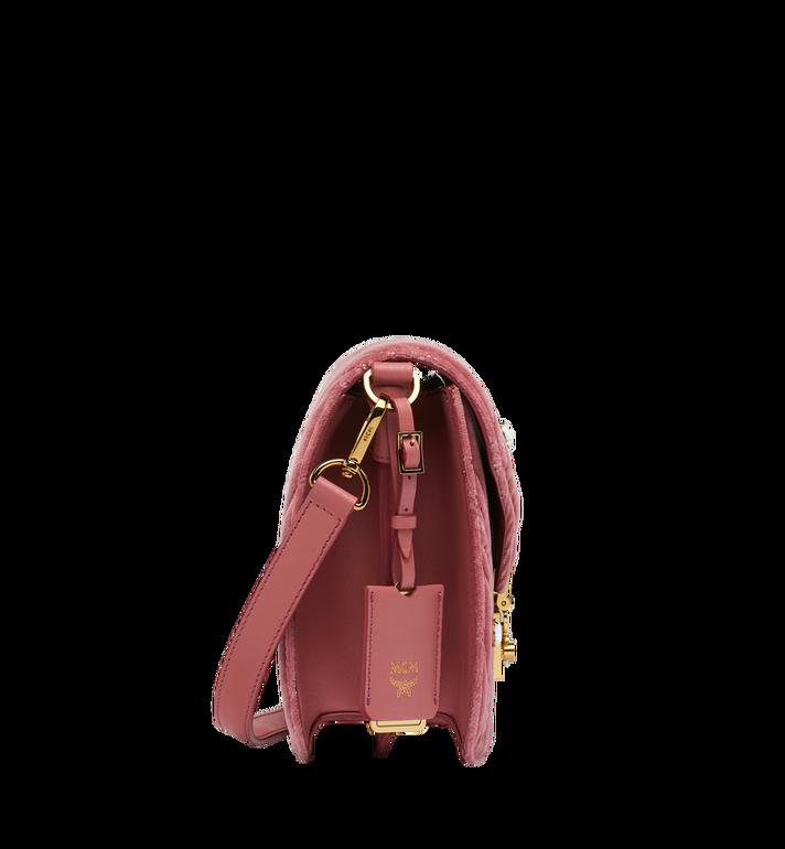 MCM Patricia Shoulder Bag in Velvet Crystal Studs AlternateView3