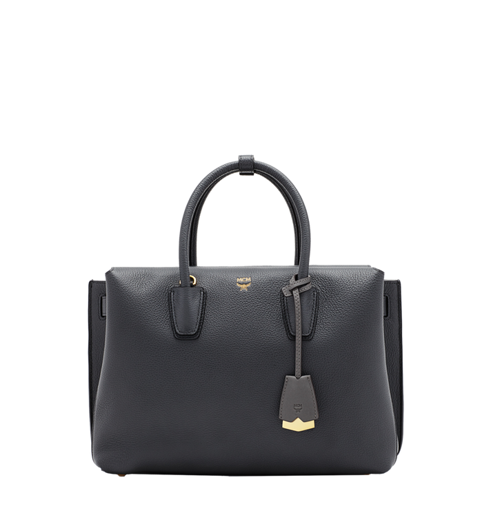 MCM Milla Tote in Grained Leather MWT6SMA04EP001 AlternateView