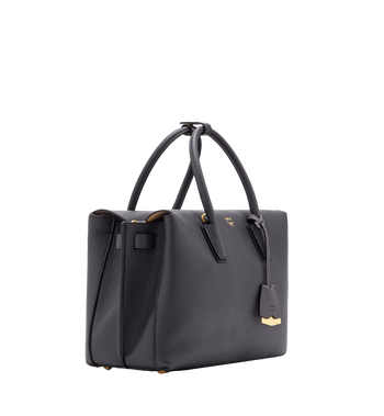 MCM Milla Tote in Grained Leather MWT6SMA04EP001 AlternateView2
