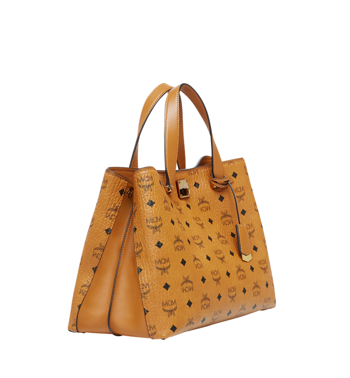 MCM Essential Tote in Visetos MWT7ASE48CO001 AlternateView2