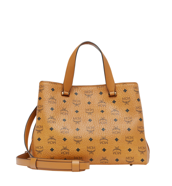 MCM Essential Tote in Visetos MWT7ASE48CO001 AlternateView4
