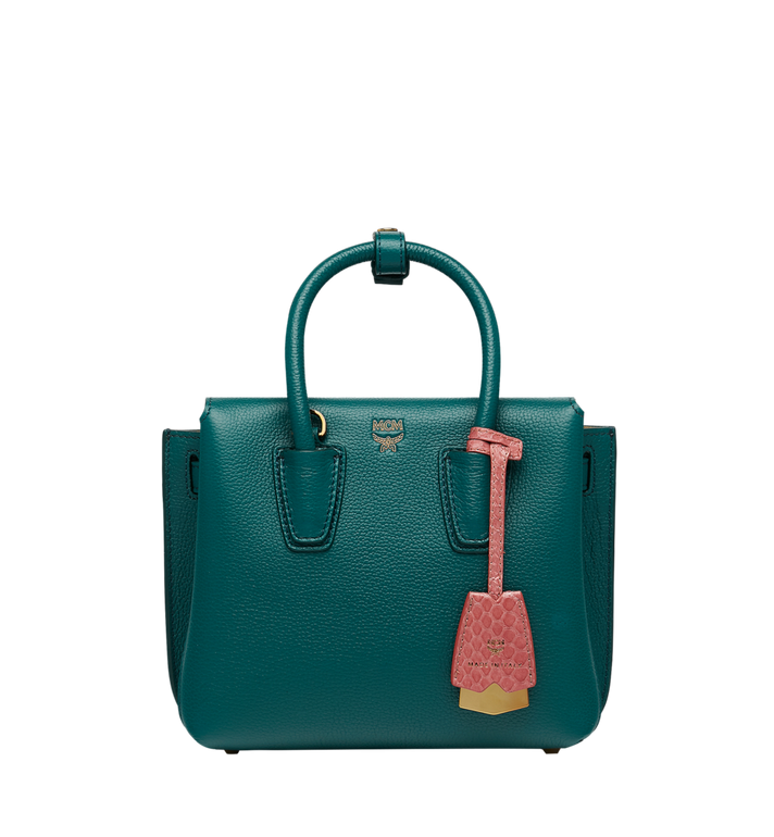 MCM Milla Tote in Grained Leather MWT8AMA94KA001 AlternateView