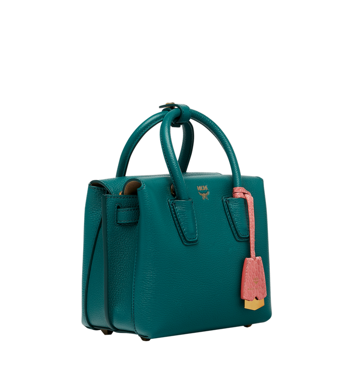 MCM Milla Tote in Grained Leather MWT8AMA94KA001 AlternateView2