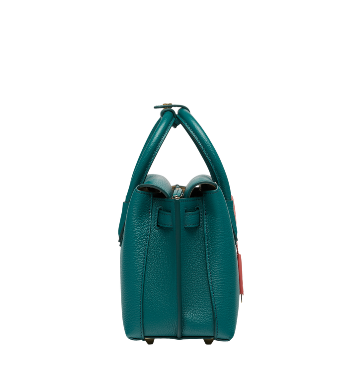 MCM Milla Tote in Grained Leather MWT8AMA94KA001 AlternateView3