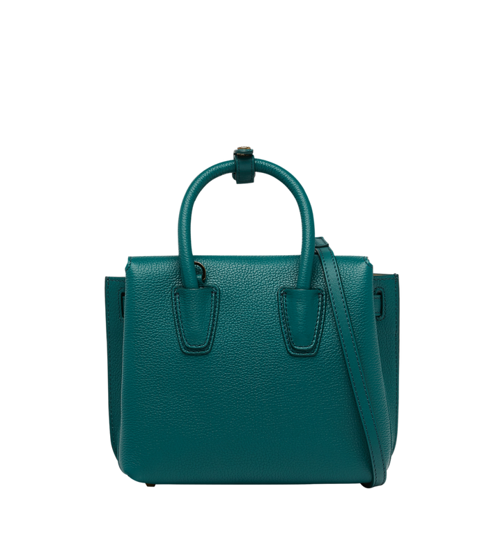 MCM Milla Tote in Grained Leather MWT8AMA94KA001 AlternateView4