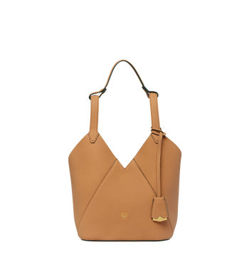 MCM Dessau Tote in Grained Leather MWT8SXD41CR001 AlternateView
