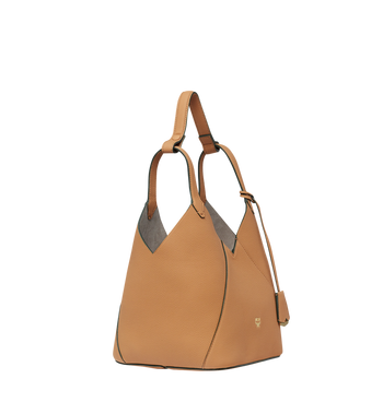 MCM Dessau Tote in Grained Leather MWT8SXD41CR001 AlternateView2
