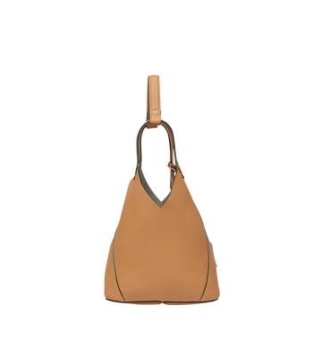 MCM Dessau Tote in Grained Leather MWT8SXD41CR001 AlternateView3