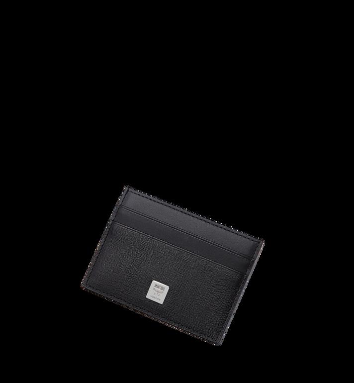 MCM 코부르크 크로스그레인 레더 카드케이스 MXA8SCE26BK001 AlternateView4